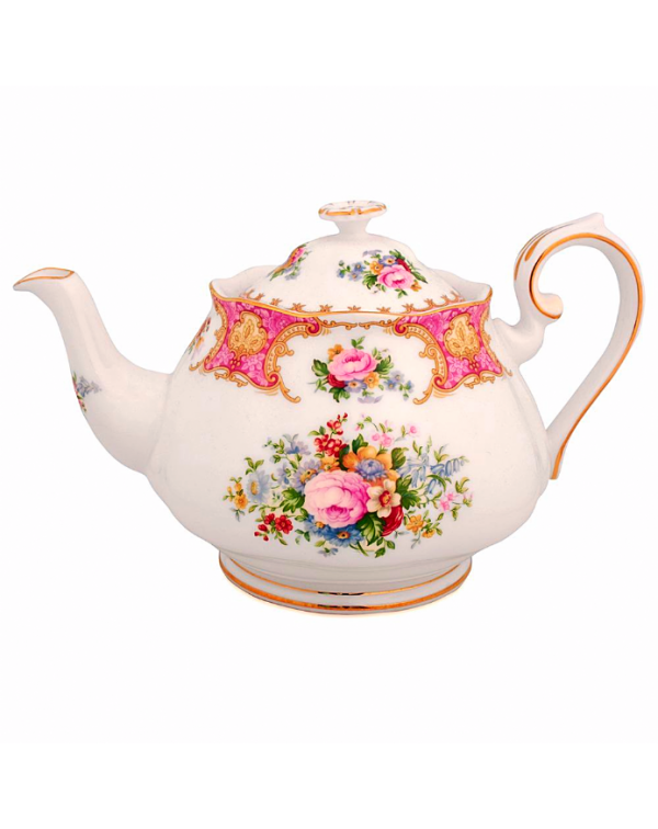 (OUT OF STOCK) ROYAL ALBERT LADY CARLYLE LARGE TEA...